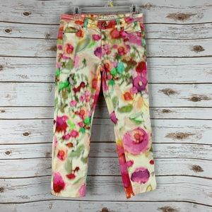 Kate Spade Watercolor Perry Street Pants size 27